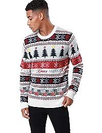 Threadbare - Jersey de Navidad para Adultos