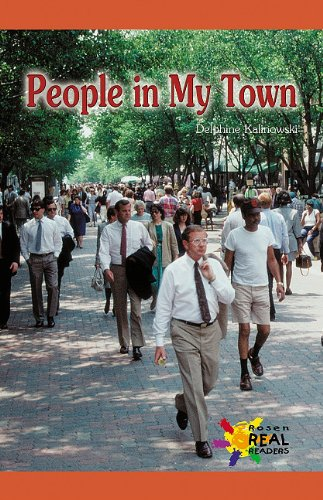 People in My Town (Rosen Real Readers: Early Emergent)