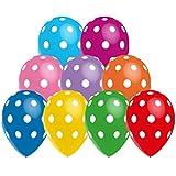 Balloonia - Globos estándar-pastel, multicolor (Hispánica de Globos 954025)