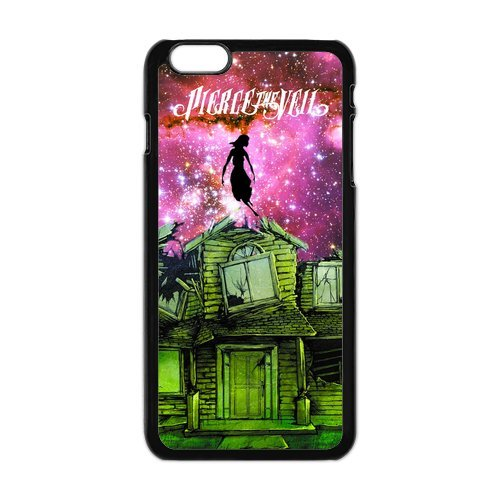 iPhone 6 Plus Coque de protection en TPU pour, Customize Pierce The Veil Case for iPhone 6 Plus, [Pierce The Veil] Transparent Back Cover étui en silicone pour iPhone 6 Plus 5,5