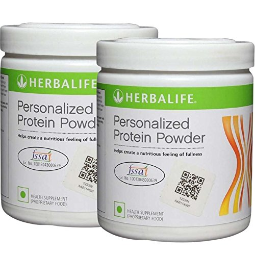 Herbalife Personalized Protein Powder (Pack of 2), 0.44 lb Unflavoured  available at amazon for Rs.1519