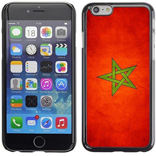 Graphic4You Vintage Uralt Flagge Von Iraker Irak Design Harte Hülle Case Tasche Schutzhülle für Apple iPhone 6 Plus / 6S Plus Marokko Marokkanisch