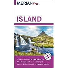 MERIAN live! Reiseführer Island: Mit Extra-Karte zum Herausnehmen
