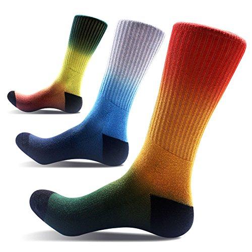 Affe 3 Paare Herbst/Winter Herren Basketball Socken Baumwolle Sportsocken