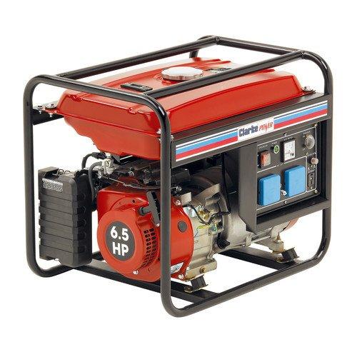 CLARKE GENERATOR 2.8 Kva 230v PETROL 6.5HP FG3005