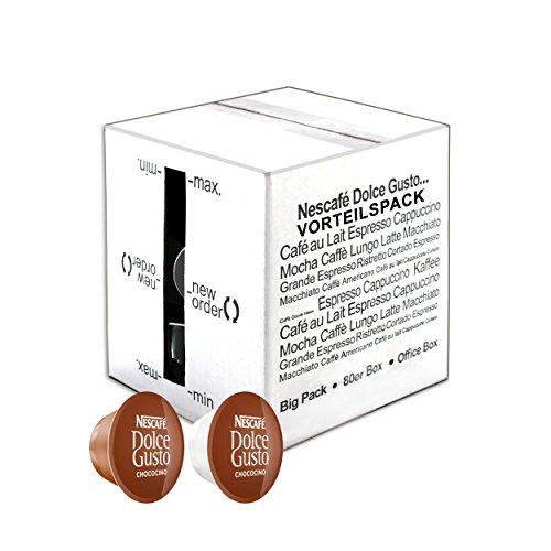 80 x Nescafé Dolce Gusto Chococino, 80 Cápsulas (40 Tazas)