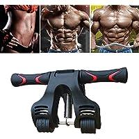 STRIR AB Roller con 3 Ruedas Roller Wheel para Entrenamiento de Músculos de Vientre y Brazos