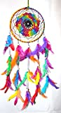 #8: Odishabazaar Multi Dream Catcher Wall Hanging - Attract Positive Dreams & Positive Thinking (For Home / Office / Institute / Shop / Hostel / PG / Hotels / Restaurants)