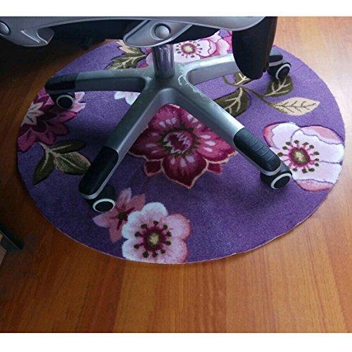 LRW Kreis-Computer-Antibeleg-Matten-Kissen-Kissen-Korb bedeckt mit Einer Decke des Garderoben-Schlafzimmer-seitigen absorbierenden Kissens (Color : H)