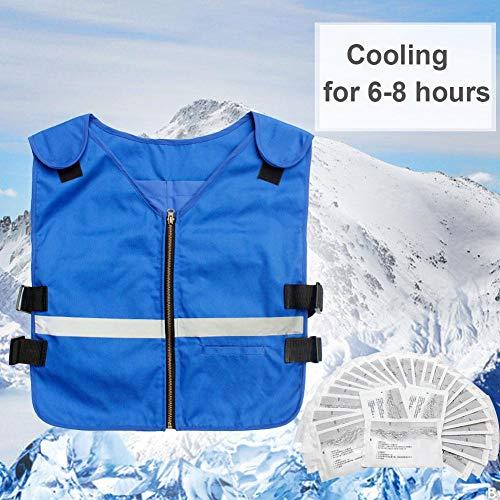 lembrd Kühlweste - Summer Ice Cooling Weste für Outdoor Sport Arbeit Hohe Temperatur Schutzkleidung -