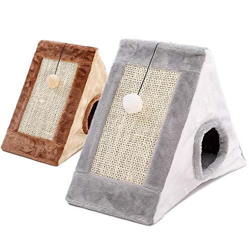Hohe Qualität Katzen Klettergerüst Katzenkratzteller Krallen Hanfseil Hausbett Sofa Haustierball...