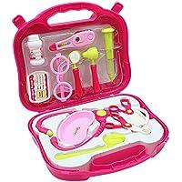 Arztkoffer Kinder Mädchen Rosa Geschenk Arztkoffer Spielzeug ab 3 jahre