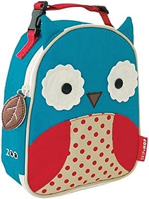 Skip Hop Zoo Lunchies - Bolsa térmica, diseño owl, color azul