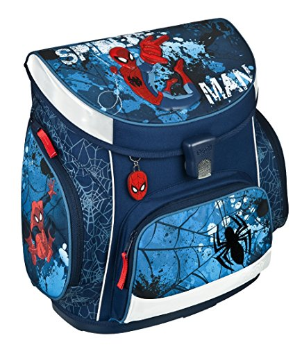 Spiderman Schulranzenset 21-tlg. Schultüte, Sporttasche, Schüleretui gefüllt, Regen/Sicherheitshülle SPON8251 - 2