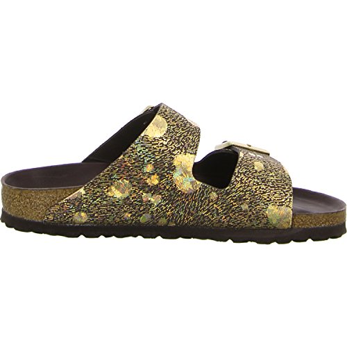 Birkenstock Sandali da donna Metallic Brown