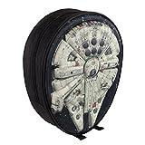 Cerdá Star Wars Nave Mochila 3 D Relieve, 5 Litros, Color Negro