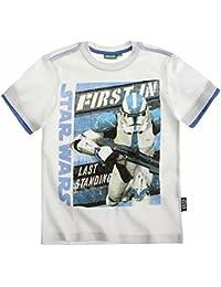 Star Wars T-Shirt 2014 Kollektion 110 116 122 128 134 140 146 152 Shirt Kurz Jungen Sommer Neu L2 Weiß