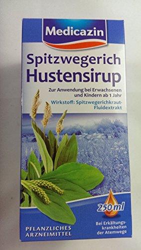 Spitzwegerich Hustensirup 250ml