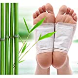 Niyam Natural Bamboo Vinegar Adhesive Body and Foot Patch to Detox and Remove