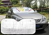 XFAY Pare-soleil pour Fenêtre Devant de Voiture Auto Bébé Enfant - Refletant Rayon...