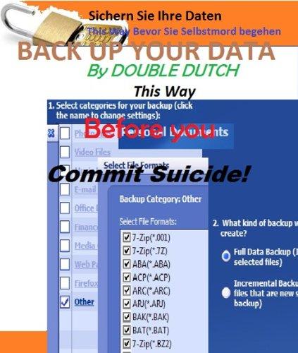 Sichern Sie Ihre Daten This Way Bevor Sie Selbstmord begehen