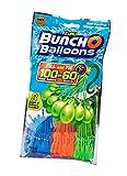 Zuru 1213 - Bunch o Balloons, 100 Wasserbomben in 60 Sekunden, selbst verschließend ohne Knoten, 3 Bündel mit je 35 Wasserbomben -