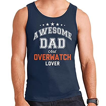 Coto7 Awesome Dad and Overwatch Lover Men