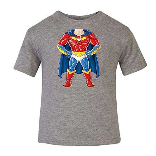 Superman Body Bebé Camiseta Top Manga Corta Para Niños Hero Comics s