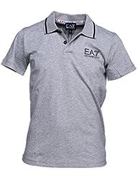 EA7 Emporio Armani - Polo garçon 6ybf51 - Bj02z 3905 Gris