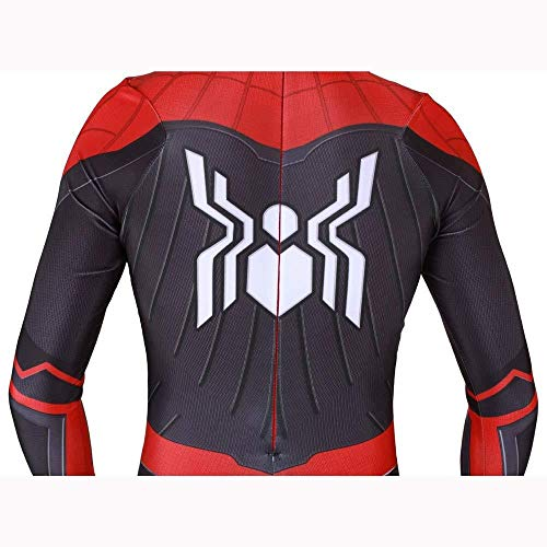 GYJVBFS Erwachsene Kinder Spider-Man NEU Erwachsene Kinder Spider-Man 2019 Halloween Kostüm Overall 3D Print Spandex Lycra Spiderman - Cosplay Kostüm Body C-Adult/L,C Child\/M (Halloween-kostüme Superheld 2019)