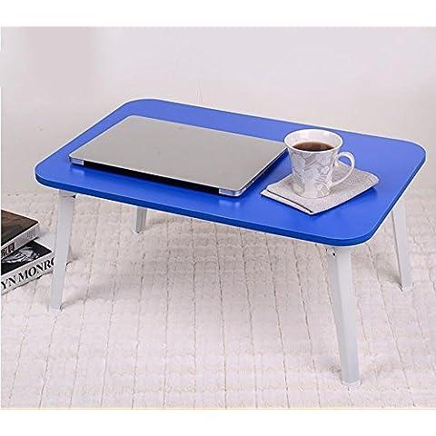 KHSKX Scrivania portatile elegante, minimalista, pieghevole, dormitorio
