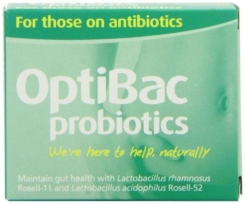 Optibac Probiotics For those on antibiotics – Pack of 10 Capsules