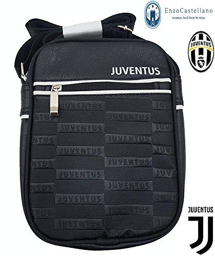 SET UFFICIALE JUVENTUS FOOTBALL CLUB - BORSELLO + BICCHIERE + PENNA - JUVE BORSELLO MODELLO 2