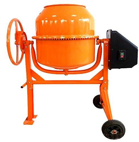 new-progen-120l-550w-drum-portable-electric-concrete-cement-mixer-mortar-plaster