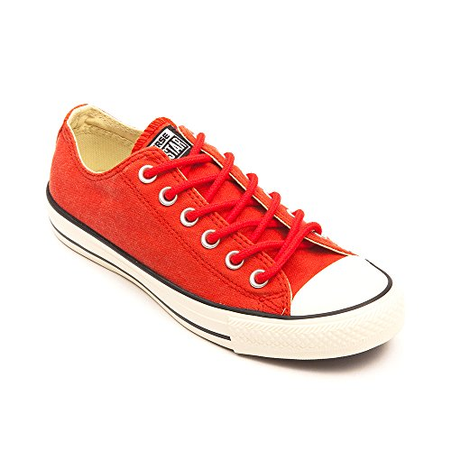 Converse Chuck Taylor All Star Adulte Basic Wash Ox 380770 Unisex - Erwachsene Sneaker Fire Brick