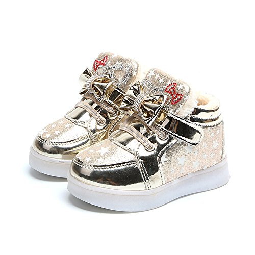 Mariposa LED zapatos niños zapatos ligeros, Stillshine – Girls intermitente deporte Running zapatillas zapatos de bebé de Halloween regalo de Navidad