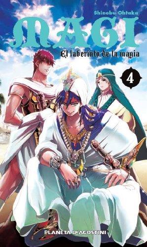 Descargar Libro Magi El Laberinto De La Magia - Número 4 de Shinobu Ohtaka