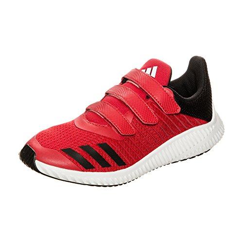 adidas FortaRun Laufschuh Kinder rot / schwarz