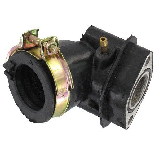 Xfight-Parts 86123 Ansaugstutzen mit Schelle und O-Ring (KOK) 17mm 4Takt 50ccm 139QMA/QMB 86123