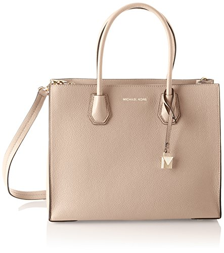 Michael Kors Damen Mercer Tote, Pink (Soft Pink), 12.7x21.6x26 centimeters