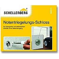 Schellenberg 60511 Notentriegelungsschloss für Garagentor