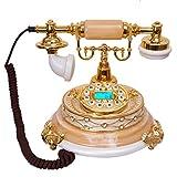 H&Y HY Strahlungssicheres Retro-Bluetooth-Telefon Hochwertiges Harz-Bluetooth-Telefon Festnetz