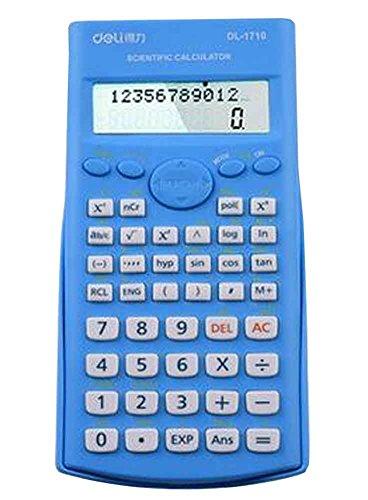 Kompaktes Design Scientific Taschenrechner mit Deckel [Blau]