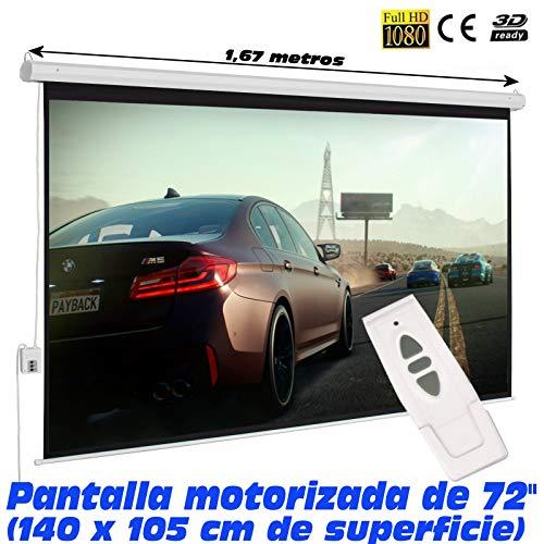 Pantalla proyeccion electrica Luxscreen