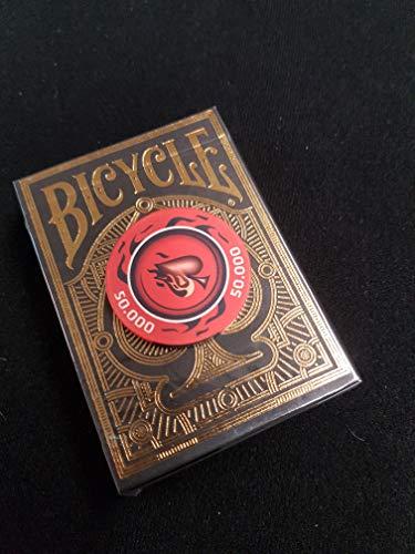 ing Cards - Limited Edition - Nur 5000 Exemplare, Inklusive Profi Keramik Poker-Chip Gratis, Pokerkarten, Kartenspiel, Spielkarten ()