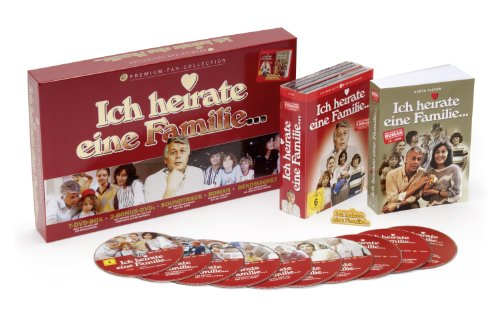 Ich heirate eine Familie: Premium-Fan-Collection (+  Bonus-DVDs + Soundtrack-CD + Roman + Dekomagnet) [9 DVDs]