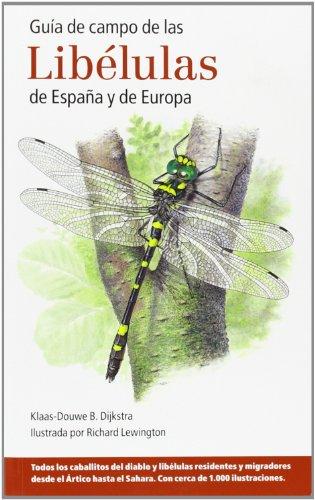 GUA DE CAMPO DE LAS LIBLULAS DE ESPAA Y DE EUROPA
