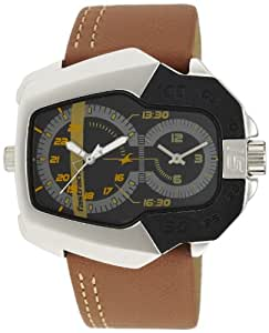 Fastrack Speed Racer Analog Black Dial Men's Watch - NE3080SL02