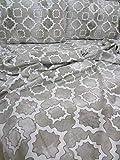 Pago Poco Marrakesh Bettwäsche-Set für Einzelbett, aus Weichem Mikrofaser, Farbe: Braun. !