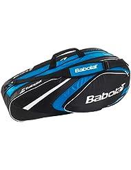 Raqueta Babolat bolsas Racket Holder X6 Club Line, color Azul - azul, tamaño 74 x 24 x 33 cm, 40 Liter, volumen liters|40.0